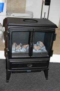 fire stove electric