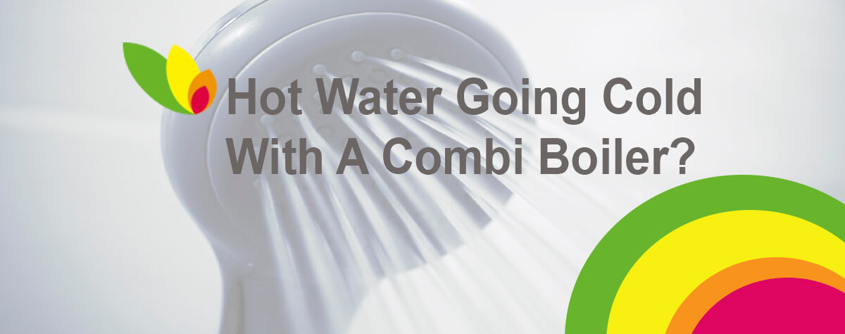 How water going cold with a combi boiler