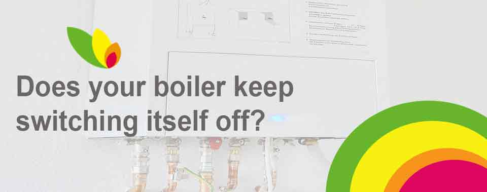 Boiler switching itself off