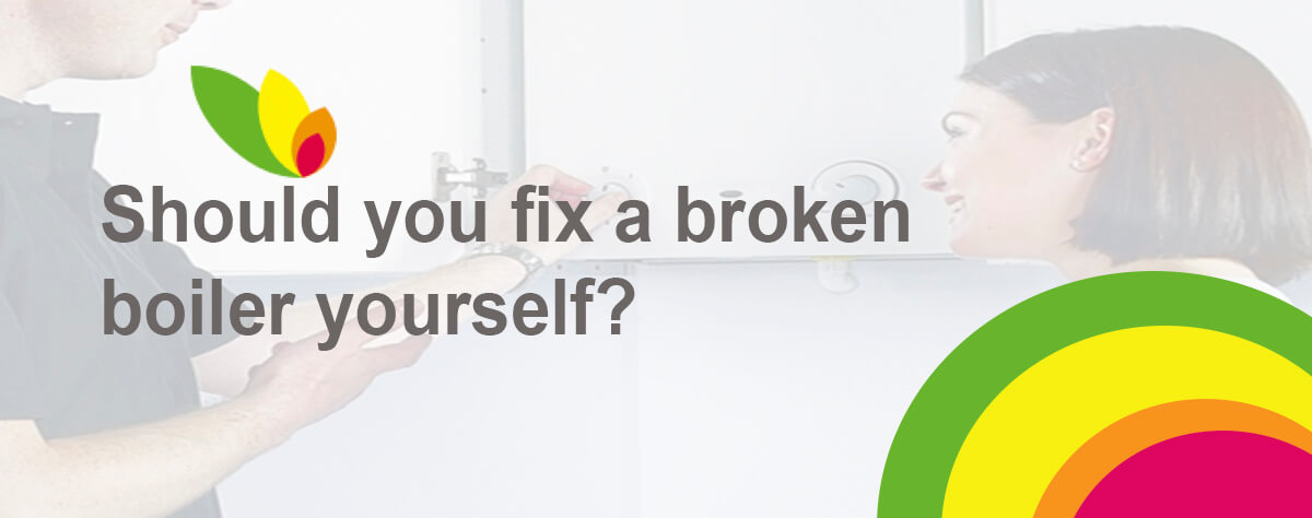 Fixing a broken boiler by yourself