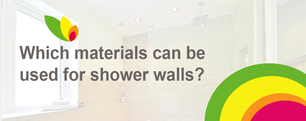 materials for shower walls