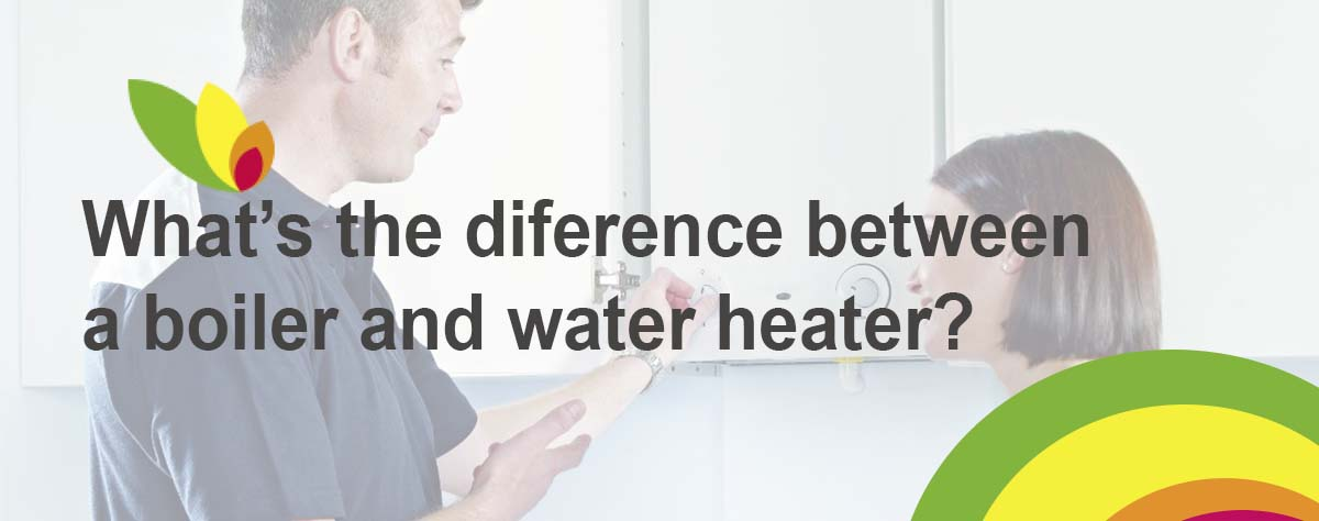 Difference between boiler and water heater